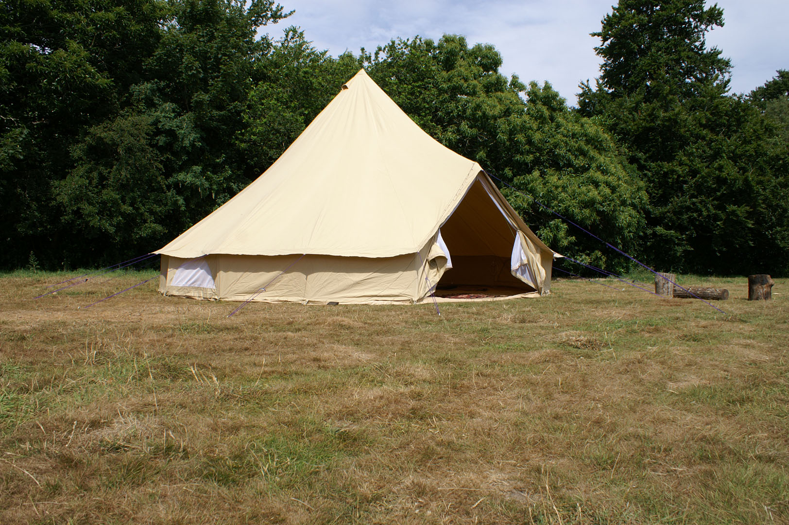 5m Boutique Camping Ex-hire Bell Tent **SOLD**